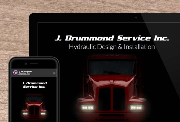 J. Drummond Service Inc. : Business to Consumer Website